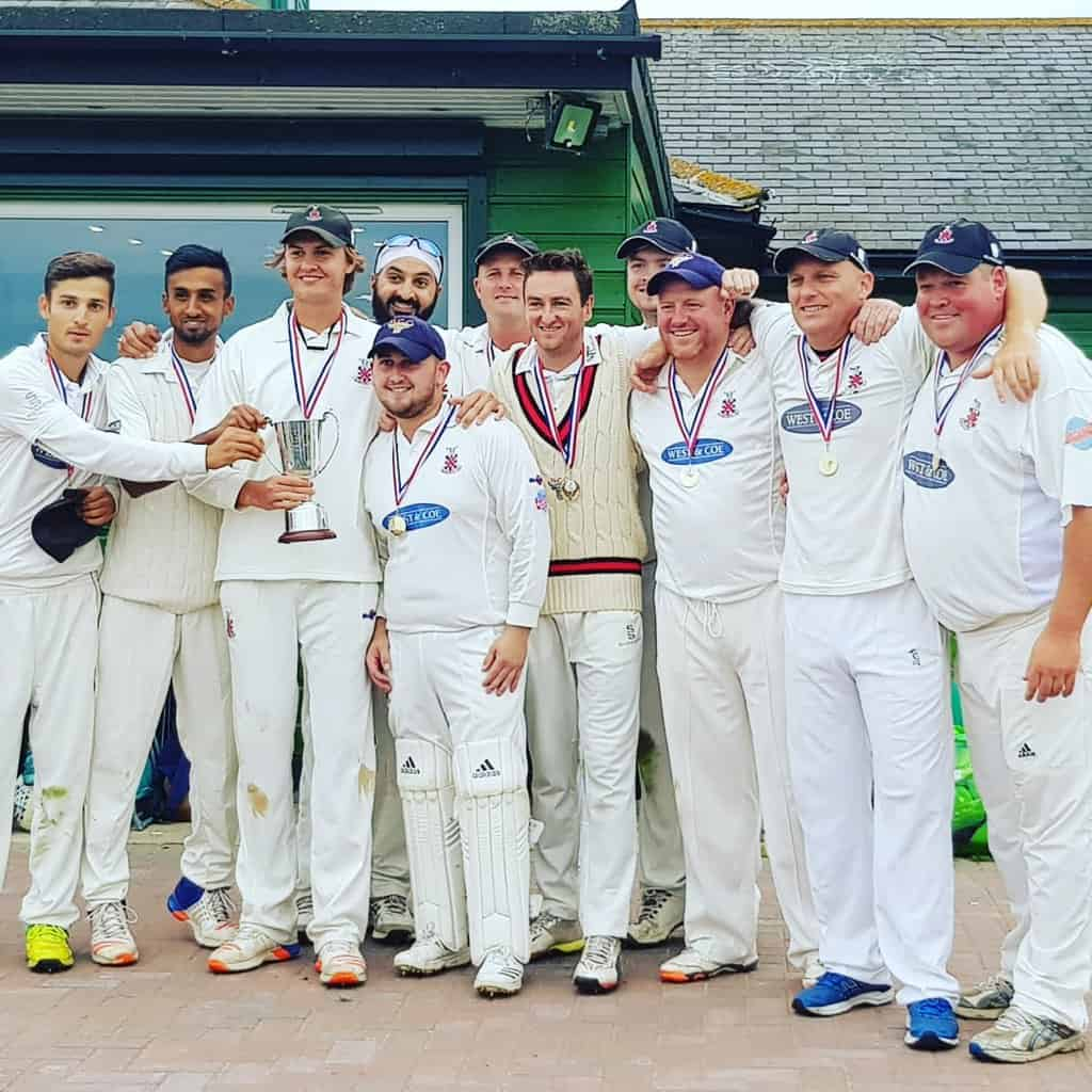 Hornchurch Cricket Club Saturday 1st XI Essex League Winners 2018